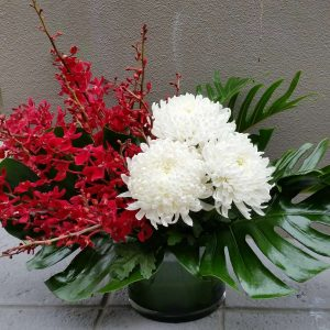 perth corporate flower arrangement