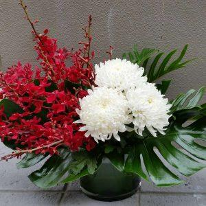 perth corporate flower arrangement