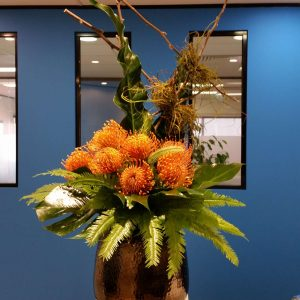 Weekly corporate flowers in Perth