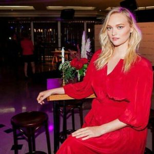 Fashion event florals with Gemma Ward