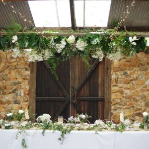 floral installation at perth's chapel farm