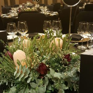 Native centrepieces at Crown Perth