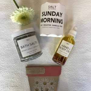 organic and soy pamper products