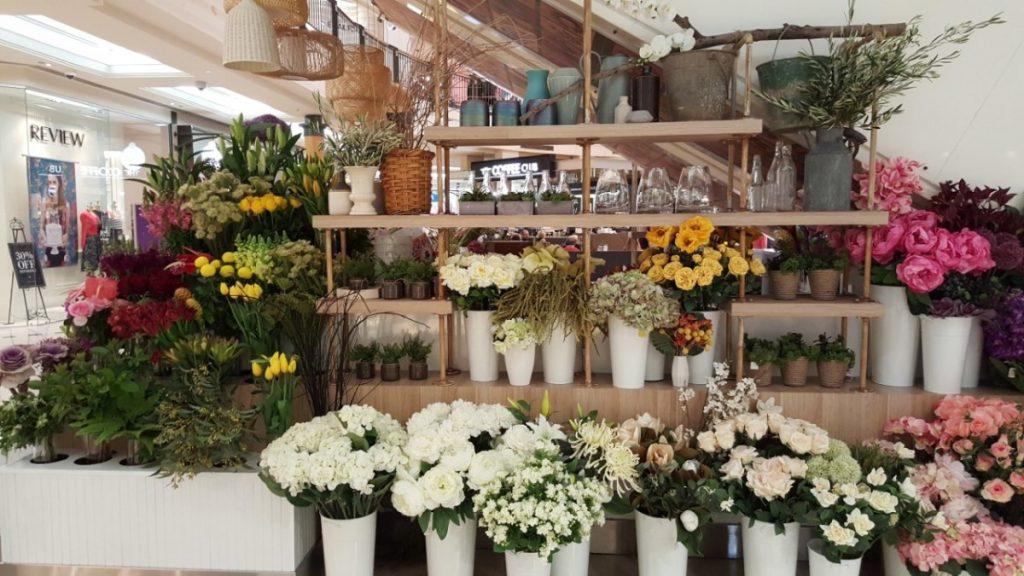 silk flowers at Code Bloom Karrinyup