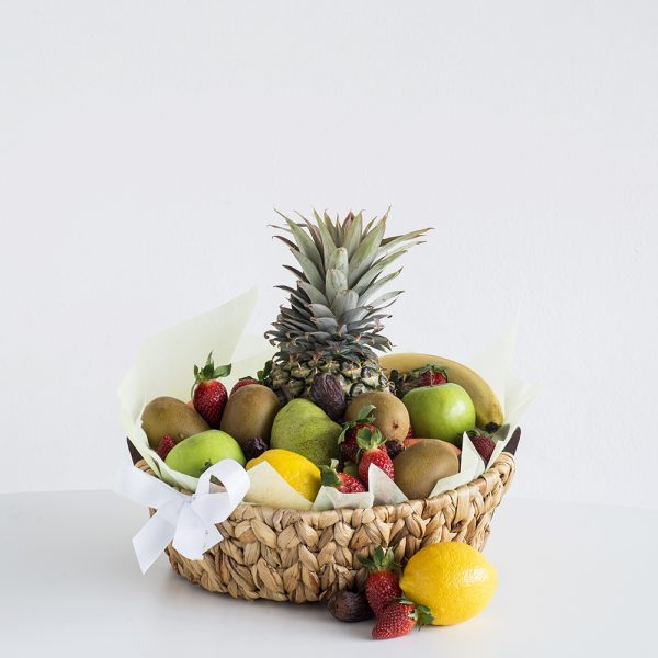Fruit Hamper with seasonal fruit