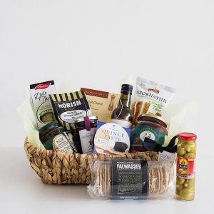 Savoury Hamper with gourmet delights