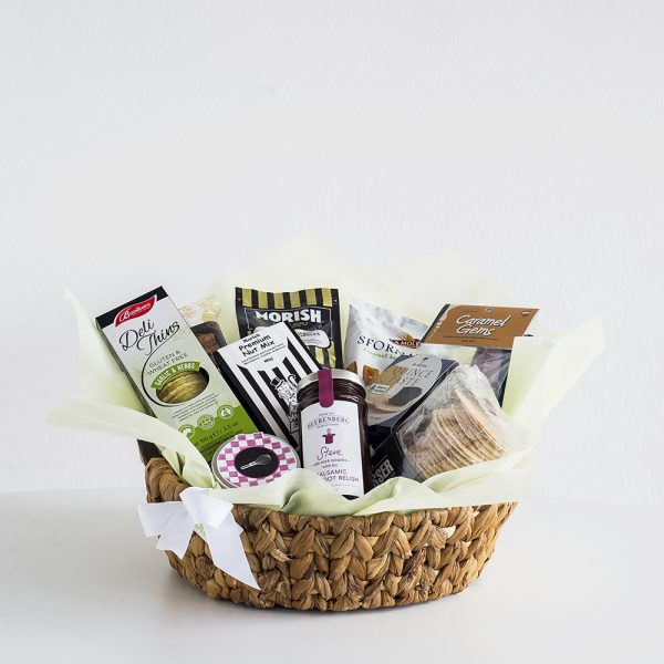 Sweet and Savoury Hamper with gourrmet products