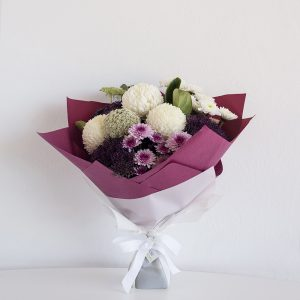 Purple & Whites Bouquet