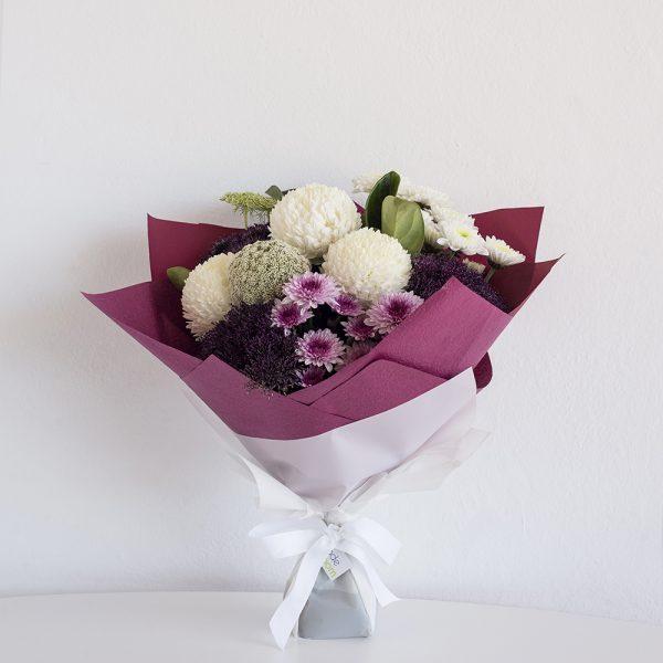 Purple & Whites Bouquet
