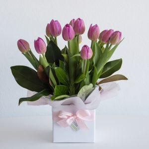 Tulip Box arrangement