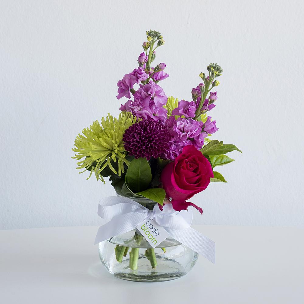 Small Posy Jar - Florist\'s Choice • Code Bloom - Perth Florist ...