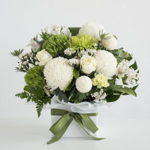 Fresh, seasonal blooms arranged into a gorgeous posy jar - selection of flowers used will be the florist's choice based on current market availability.