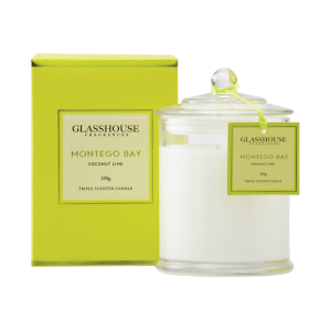 Montego 350g Glasshouse Candle