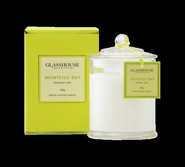 Montego 350g Glasshouse Candle