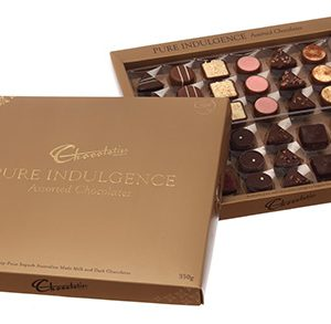 Premium mixed chocolates - Pure Indulgence Assortment (Gold) 350g
