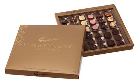 Premium mixed chocolates - Pure Indulgence Assortment (Gold) 350g