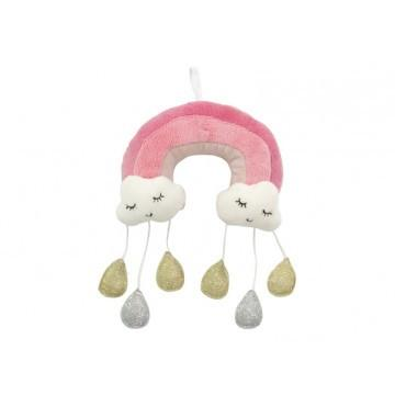 Cloud Baby Mobile - Pink