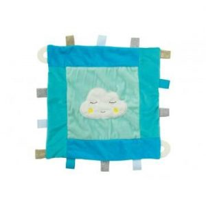 Cloud Baby Security Blanket- Blue