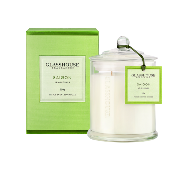 Saigon Glasshouse Candle 350g