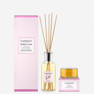 mini candle and diffuser gift set - tahaa the most popular glasshouse fragrance