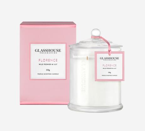 Florence Glasshouse candle 350g