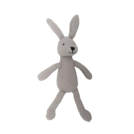 grey bunny toy