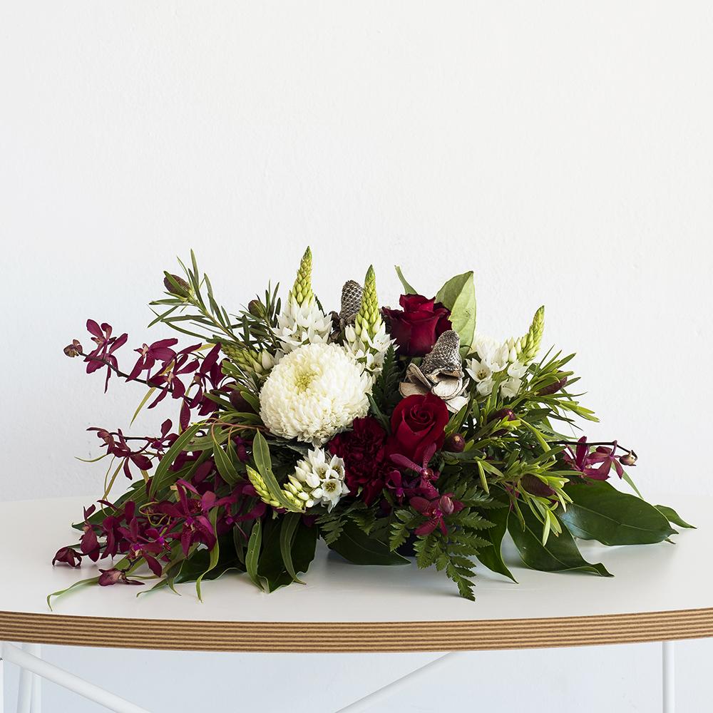 Christmas Table Centrepiece Code Bloom Perth Florist Fresh