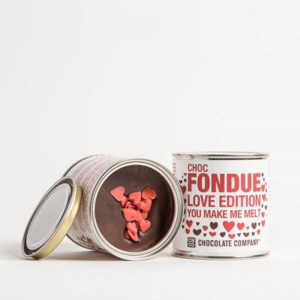 love edition chocolate fondue